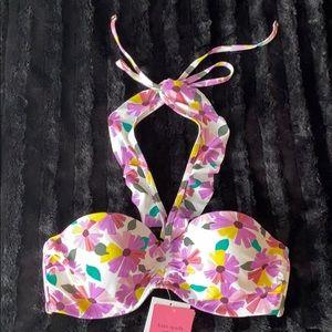 Kate Spade Floral Bikini Top